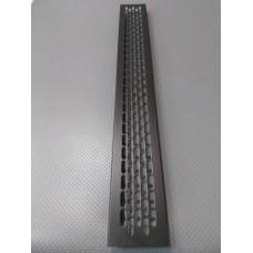 Алюмінієва решітка 480*60мм колір RAL9005